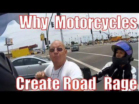 The Psychology Behind Why Motorcycles Cause Anger While Driving