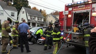 Passaic NJ MVA with Entrapment Terhune Ave and Westminster Place Mutual Aid Responded