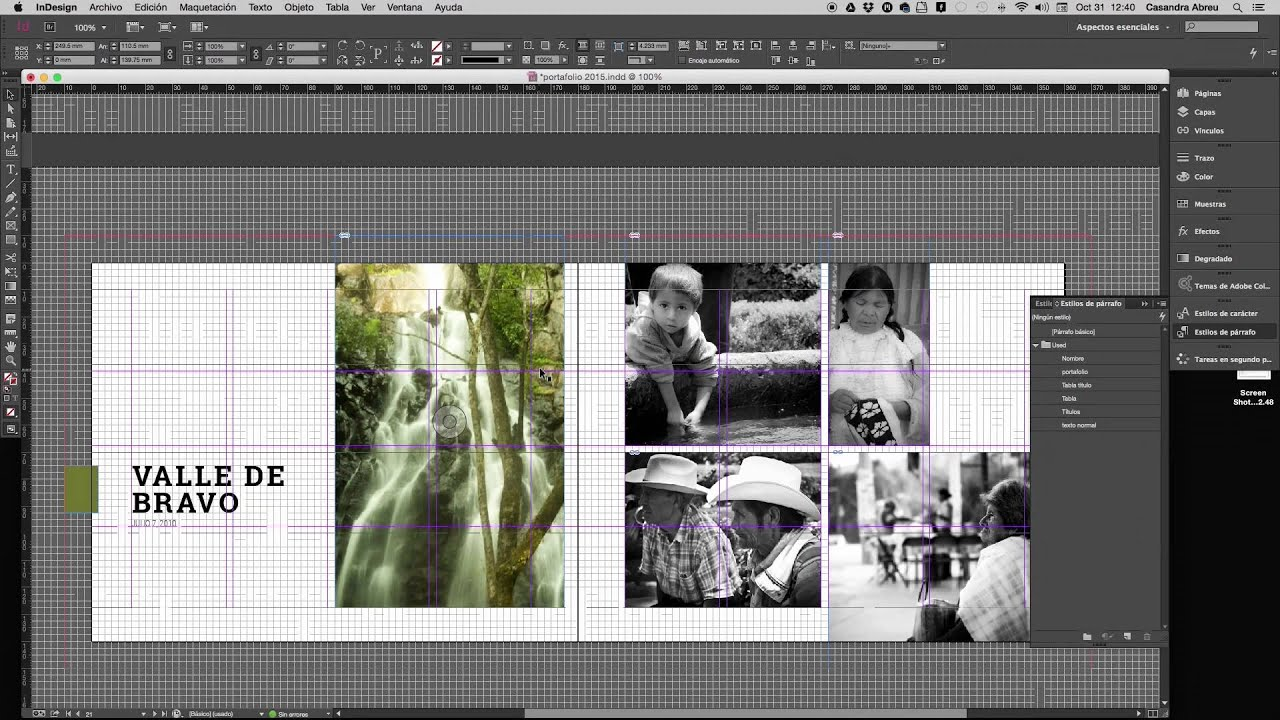 Portafolio indesign youtube for Portafolio arquitectura