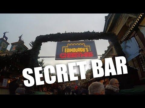SECRET BAR IN EDINBURGH