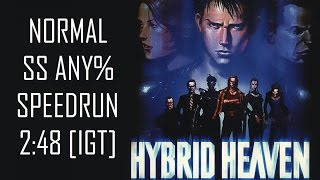 Hybrid Heaven - SS Normal Any% Speedrun in 2:48 [IGT]