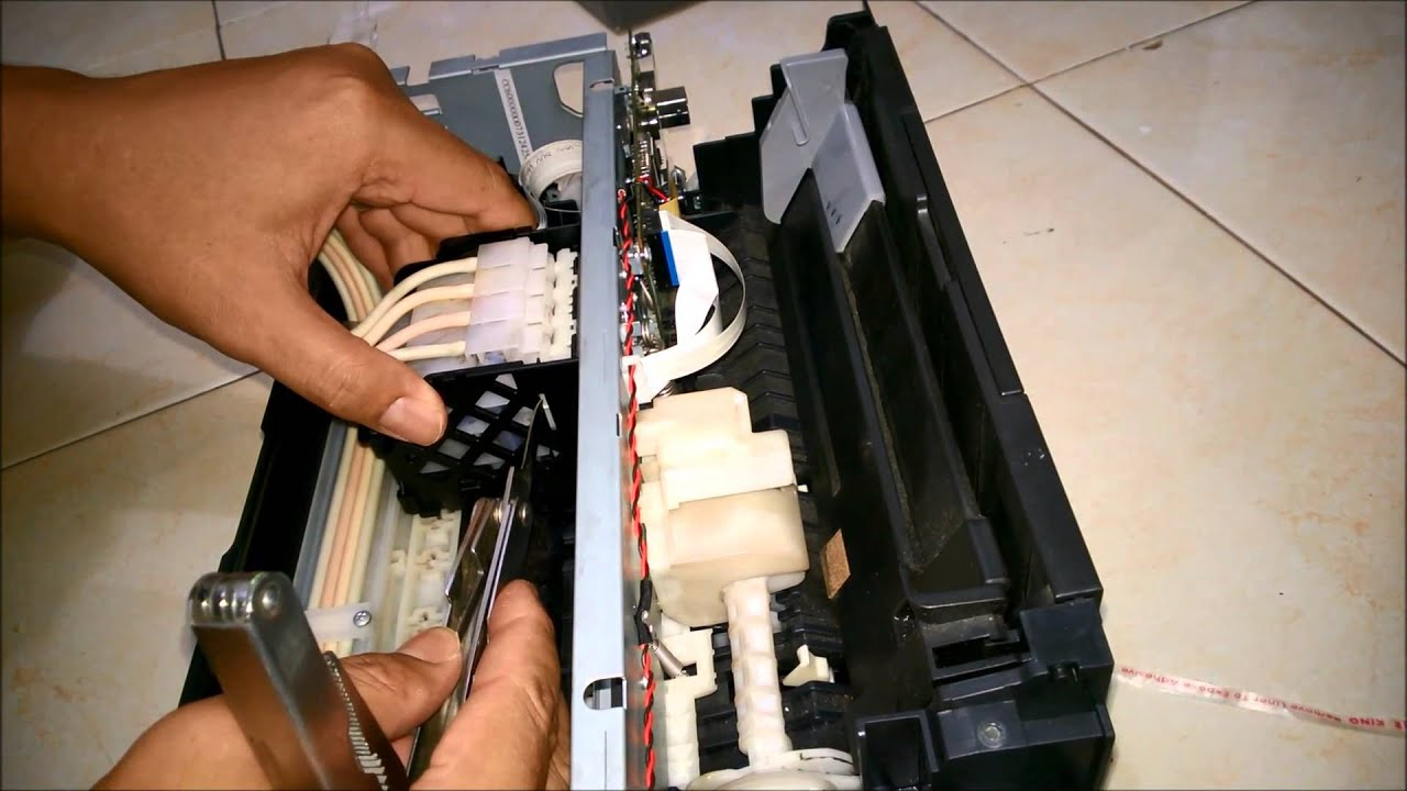 How to remove the head Epson 76