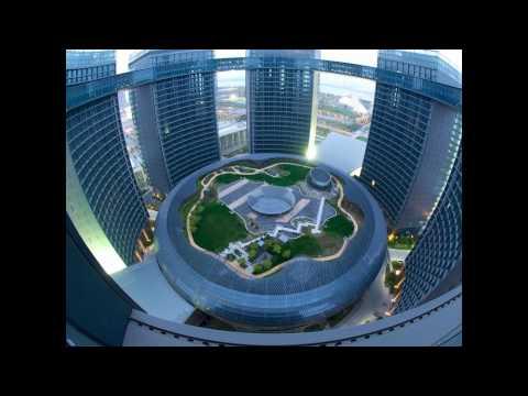 beautiful amazing modern China buildings