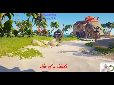 Sea Of Thieves Snake Trap Defence part 3
