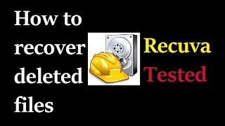 How To Recover Permanently Deleted Files For Free In Windows Smartphones Pendrives
