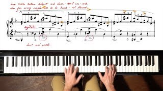 Download Chopin Ballade No.1 TUTORIAL - P. Barton, FEURICH piano MP3 song and Music Video