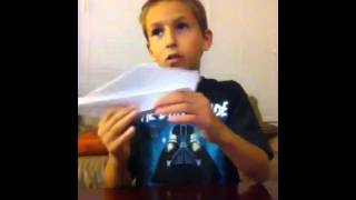 How To Make Concorde Paper Airplane