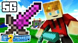 Minecraft: How 2 Minecraft! (Season Two) 'Search for the OP SWORD!' Episode 56 (Minecraft 1.8 SMP)