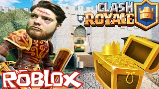 CLASH ROYALE BATTLE DER LEBENDEN DEAD !! Sharky Gaming | Roblox