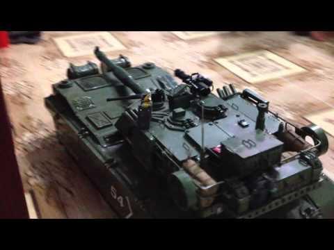 Xe tank a1m1 tu Che to le 1/10