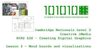 Creative iMedia R082 Creating Digital Graphics - Lesson 2: Mood boards and visualisations