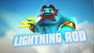 "Meet The Skylanders - Series 2 Lightning Rod ""One Strike And You"