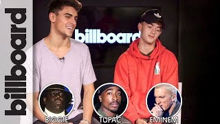 Biggie, Tupac, or Eminem? Jack & Jack Play '1 Has 2 Go!' The Game of Impossible Choices | Billboard