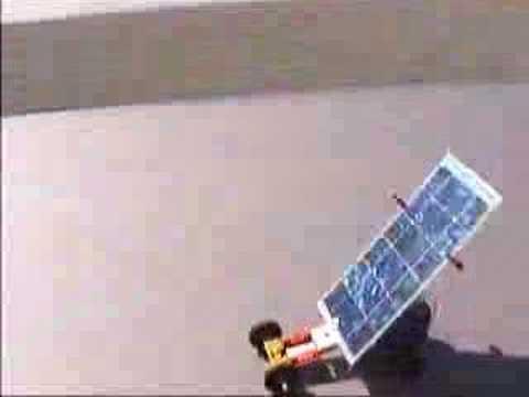 Solar Electric PV Car Automobile - Sun Sprint 2000