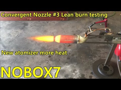 Waste Oil Burner SUPER HOT LEAN BURN Flame  Nozzle # 3