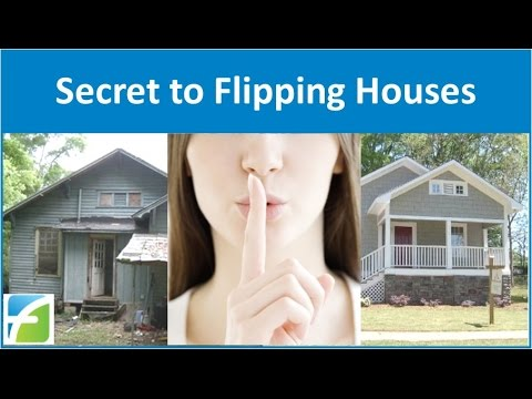 secret to flipping houses youtube