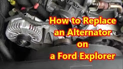 How to Replace an Alternator on a 2002-2010 Ford Explorer
