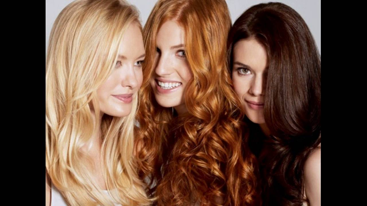 What Is The Best Red Hair Color For Cool Skin Tones - YouTube