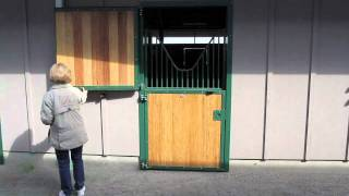 Horse Stable Stall Dutch Door: Red Wagon Farm