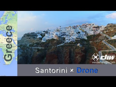 【Santorini,Greece×Phantom4ProHD】サントリーニ島�