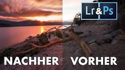 ☀️Sonnenuntergang bearbeiten mit Lightroom und Photoshop | Bildbearbeitung Tutorial - Nick Schmid