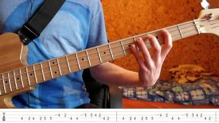 Jamiroquai Deeper Underground Bass Tutorial With TABS