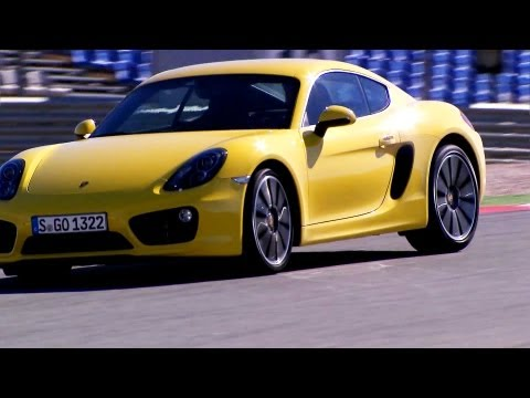 Porsche Cayman S High Speed on Track