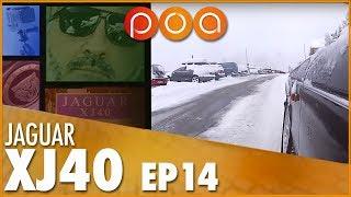 La vie en Jaguar XJ40 (épisode 14)  vive les pneus hiver