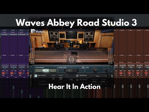 Waves Abbey Road Studio 3 Plugin Overview Impressions And Hear It In Action Youtube