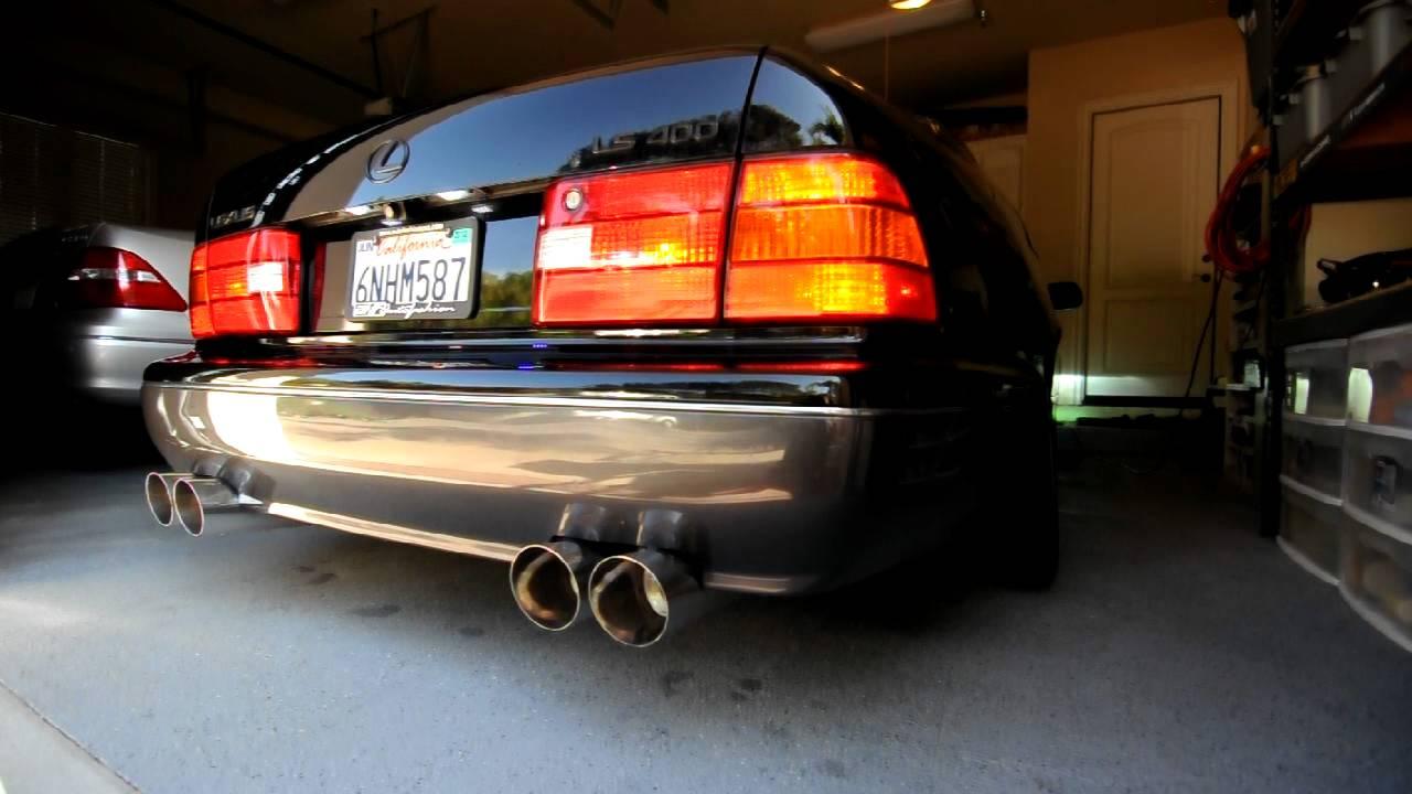 Lexus ls400 exhaust youtube publicscrutiny Image collections