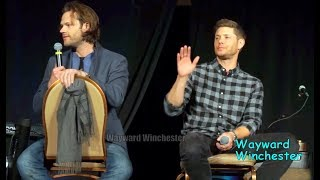 Jared Padalecki Wants To Kill Danneel Ackles On SPN But Jensen Is Not Amused SPNLVCON 2018