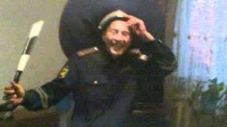 Инспектор ДПС под кайфом зажигает под Алегрову))).3gp