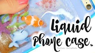 diy liquid phone case fish tank aquarium ocean easy how to cases