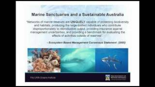 Part 3 - Do Marine Protected Areas work? - Prof Hugh Possingham