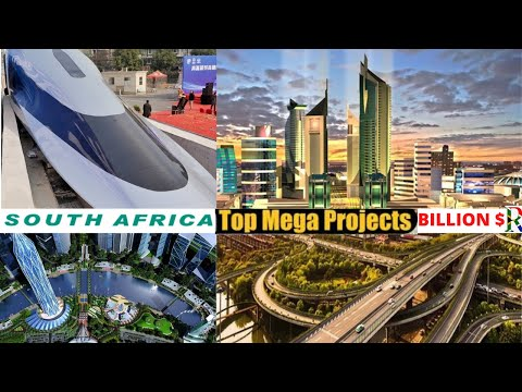 Top 5 ongoing Mega projects in South Africa 🇿🇦