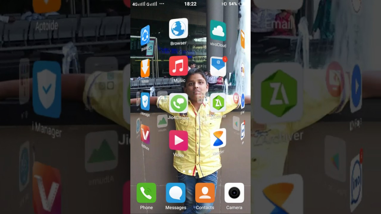 How to take a screen shot of vivo y 21l