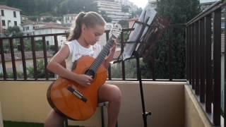 К Элизе.  На гитаре(1).26.06.17