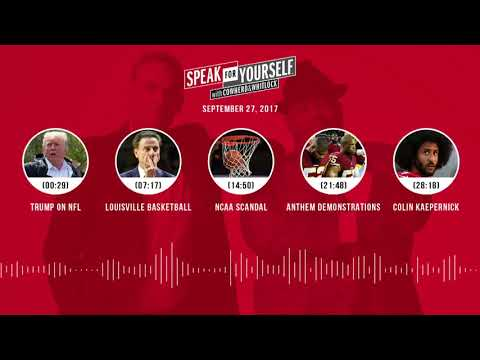 SPEAK FOR YOURSELF Audio Podcast (9.27.17) with Colin Cowherd, Jason Whitlock | SPEAK FOR YOURSELF