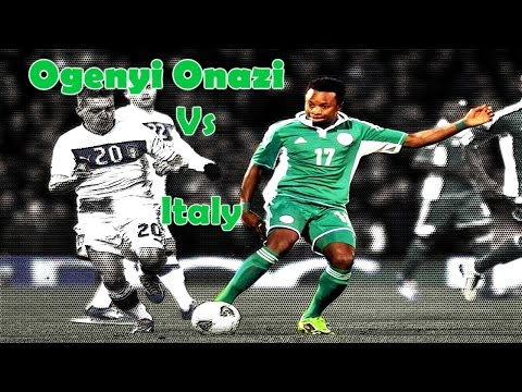 Ogenyi Onazi VS Italy