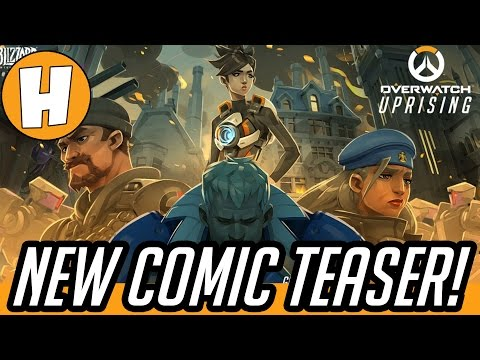 Overwatch Comic Teaser - Uprising ! (King's Row Omnic Uprising Lore Event - Mild Spoilers!)