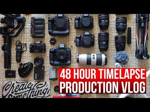Slow motion video drone hyperlapse timelapse production vlog