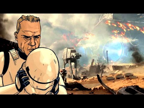 How Stormtroopers Escaped the Battle of Jakku - Star Wars Explained