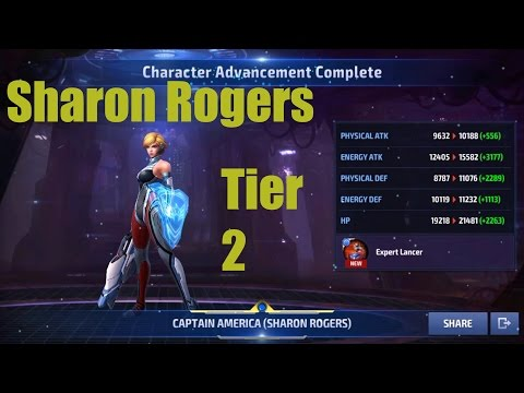 Sharon Rogers to Tier 2 Account Progression and thoughts (Marvel Future Fight)