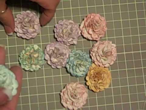 Handmade paper flowers youtube - Simple handmade paper flowers ...