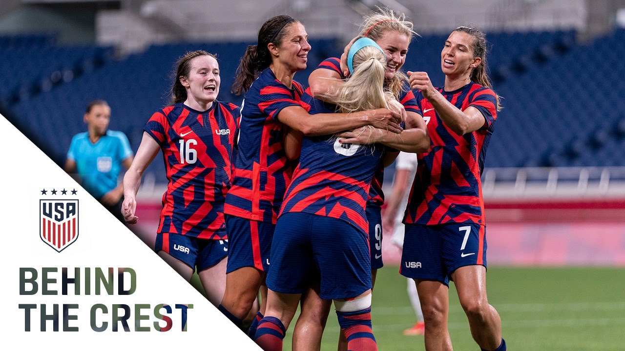 BEHIND THE CREST   USWNT Opens Tokyo 2020 Olympics