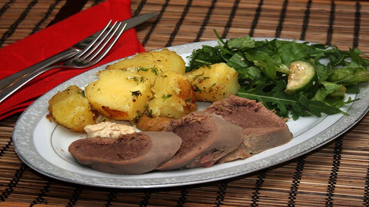 язык свиной отварной рецепт приготовления с фото
