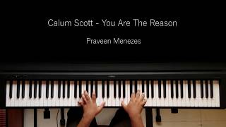 Calum Scott - You Are The Reason | Piano Cover | Praveen Menezes