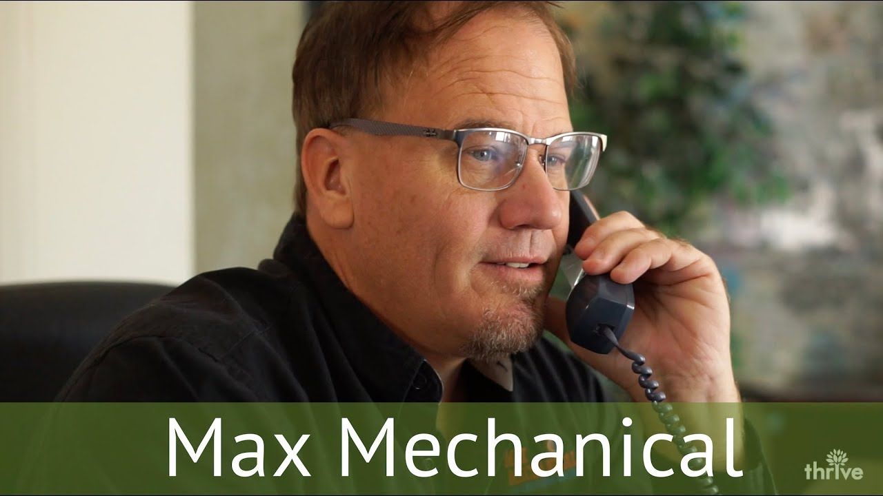 Home Services Internet Marketing - Thrive Agency - Max Mechanical Client  Testimonial