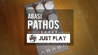 Abasi Pathos Overdrive/Distortion Pedal - Just playing, no talking!